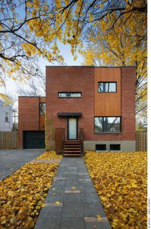 Maison de Chateaubriand par Anik Péloquin Architecte - Montréal, Canada - + d'infos
