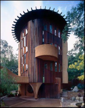 Maison de l'architecte américain Bruce Goff