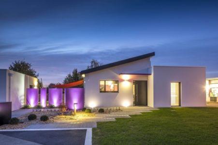 Maison en bloc béton labellisée Bepos Effinergie - Vendée via Le Moniteur