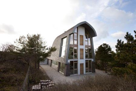 Maison originale The Dune House par Min2 - Bergen - Pays-Bas