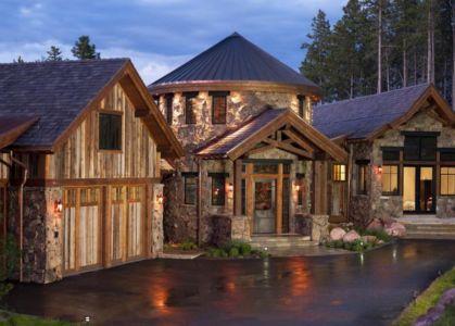 Maison pierre et bois par RMT Architectes, USA