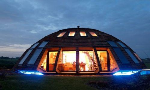 Maison ronde par Domespace - France