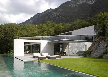 Mexico Casa par Tadao Ando - Mexique - Photo Edmund Sumner - + d'infos