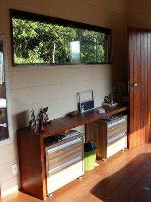 Mini bureau - Small-House-Bliss par Cabana-Arquitetos - Brésil