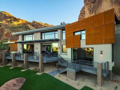 Mobilier Balcon - Arizona-Contemporary Par Luster Custom Homes - Arizona, USA