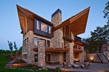 Mountain Modern par Eskuche Associates - Minnesota, USA