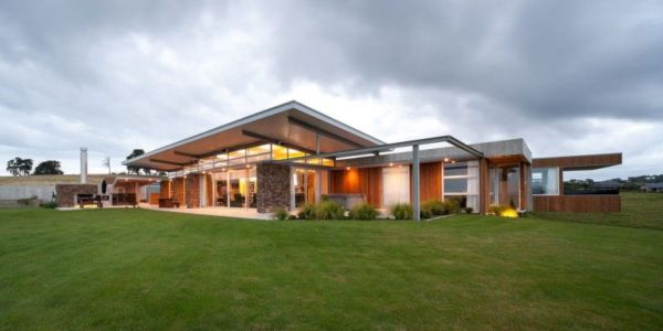 Okura House par Bossley Architects - North Shore, Auckland, Nouvelle Zélande - Photo Ewen Cafe