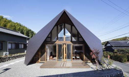 Origami par TSC Architects - Mie, Japon -photo Masato Kawano