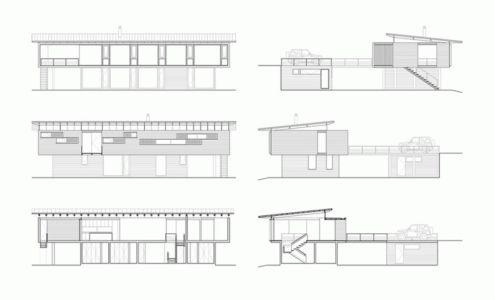 Plan Principal - House Cs par Alvaro Arancibia - Cachagua, Chili