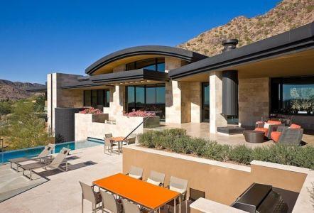 Paradise Valley Residence par Elizabeth A-Rosensteel -Arizona-USA | + d'infos