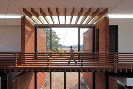 Passerelle Balcon Intérieur - Luna-Llena-House Par Candida Tabet - Punta Del Este, Uruguay