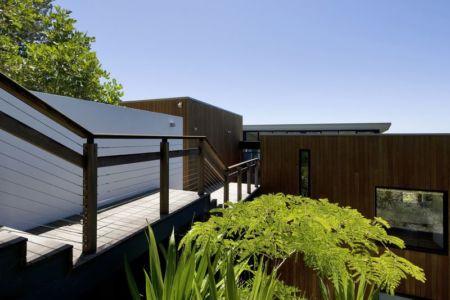 Passerelle étage - Surf-Road-House Par Nick Bell D-A - Whale Beach, Australie