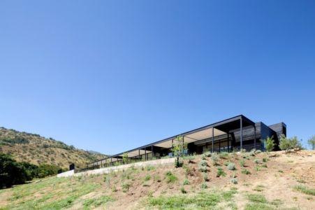 Vue en contrebas - houses-10-and-10-10 par Gonzalo Mardones - Tierras Blancas, Chilie