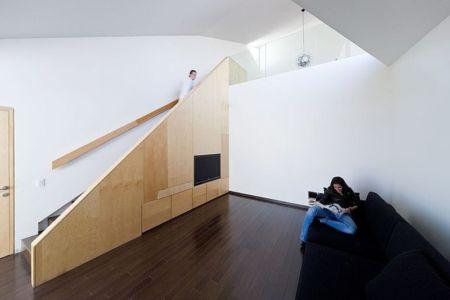 Salon intermédiaire - house-chihuahua par Productora - Chihuahua, Mexique
