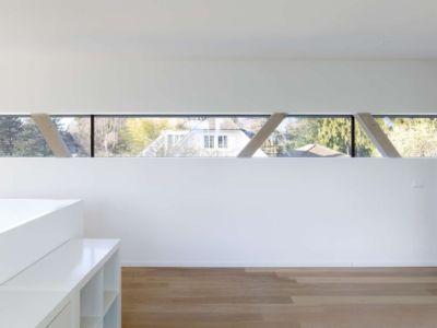 Pièce accès salon - during-tannay par Christian Von During Architects - Tannay, Suisse