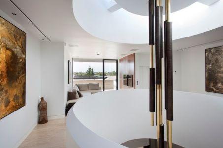 mezzanine et escalier - SV-House par A-Cero - Seville, Espagne