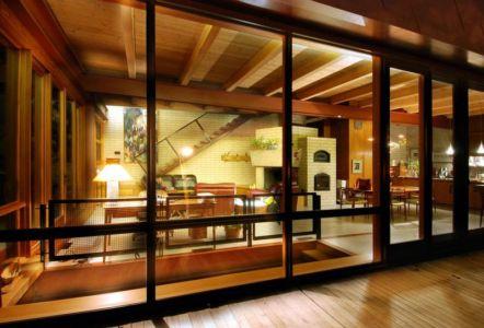 Pièce de vie - Ellis Park House par Altius Architecture - Toronto, Canada