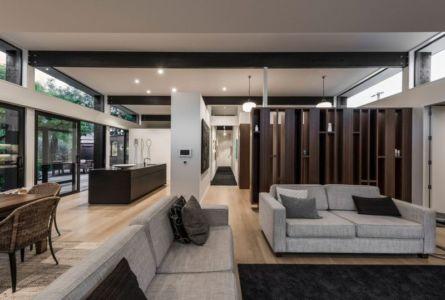 Pièce De Vie - Bradnor-Road Par Cymon Allfrey Architects - Fendalton, Nouvelle-Zelande