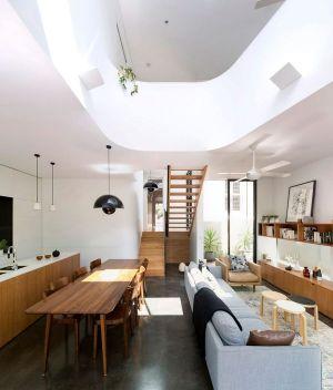 Pièce De Vie - Unfurled-House Par Christopher Polly Architect - Sydney, Australie