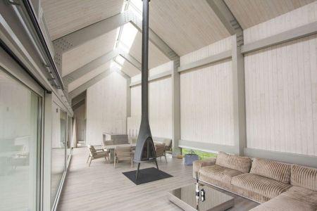 Pièce De Vie & Grande Baie Vitrée - Dune-House Par Archispektras - Lettonie