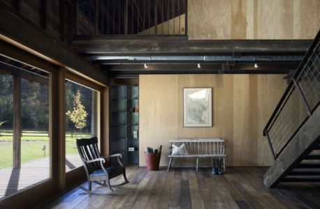 Pièce Principale Entrée - Rural-Barn Par MW Works - Leavenworth, USA