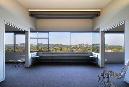 Pièce étage - maison en bois par andersson-wise, Mont Bonnel, USA.jpg
