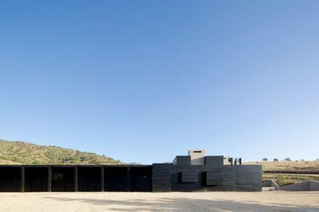 Box à chevaux - houses-10-and-10-10 par Gonzalo Mardones - Tierras Blancas, Chilie