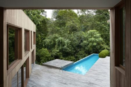 Piscine - Astrid-Hill-House par Tsao & McKown Architects - Singapour