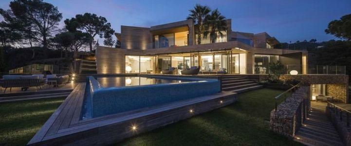 Piscine & Jardin - Casa Llorell par dosarquitectes, Costa Brava, Espagne