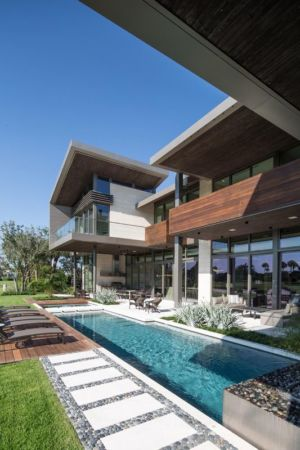 Piscine - Ballantrae Court Par Kz Architecture - Floride, USA