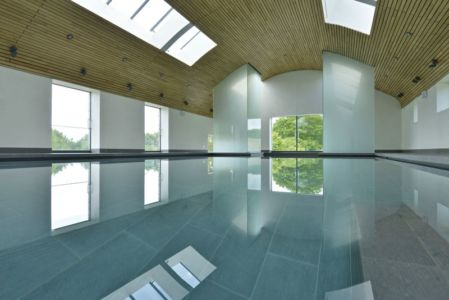 Piscine Chauffante Intérieure - Little-England-Farm Par BBM Sustainable Architects - East Sussex, Angleterre