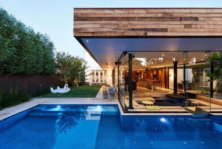 Piscine & Jardin - Sunken-living-room Par OFTB - Brighton, Australie
