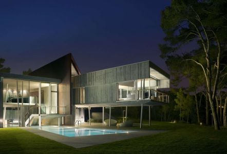 Piscine & Salon Terrasse Design - Summer-Residence Par Fuses Viader Architects - Calonge, Espagne