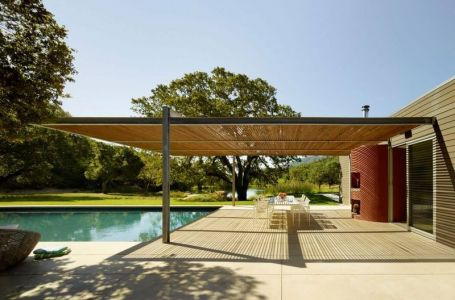 Piscine & Terrasse Salon Design - Home-Sonoma Par Turnbull Griffin Haesloop - Californie, USA