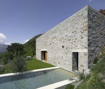 Piscine & Vue Panoramique Paysage - Building-Brione Par Meuron Romeo - Minusio, Suisse