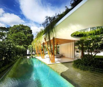 Piscine - Coral-House par Guz Architects, Singapour