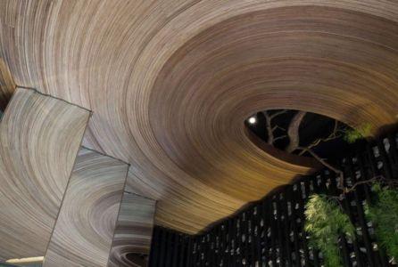 Plafond Circulaire En Arc - Dayangsanghoi Par Tune Planning - Seoul, Coree Du Sud