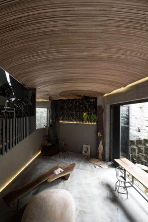 Plafond En Arc - Dayangsanghoi Par Tune Planning - Seoul, Coree Du Sud
