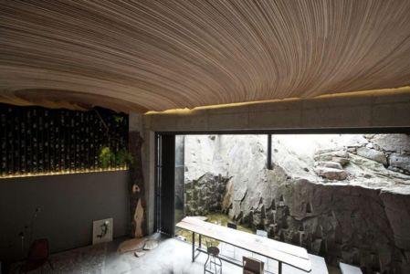 Plafond En Arc De Cercle - Dayangsanghoi Par Tune Planning - Seoul, Coree Du Sud