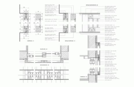 Plan Detail - House Cs par Alvaro Arancibia - Cachagua, Chili