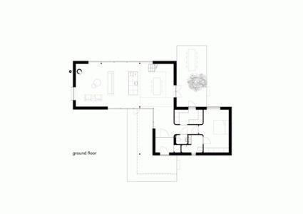 Plan Etage - huize-looveld par Studio Puisto Architects, Duiven, Pays-Bas