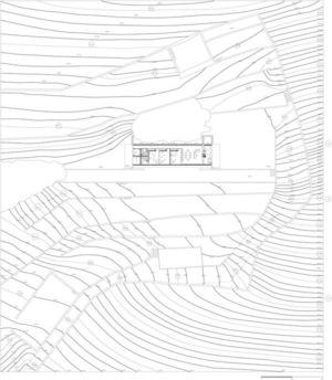 Plan Site 3 - house-moledo par Eduardo Souto - Moledo, Portugal