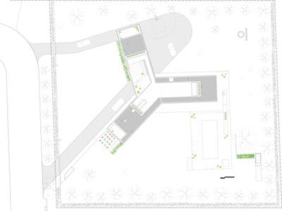 Plan Site - 365ML par Levenbetts - New York, USA