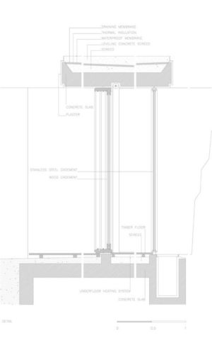 Plan Site 5 - house-moledo par Eduardo Souto - Moledo, Portugal