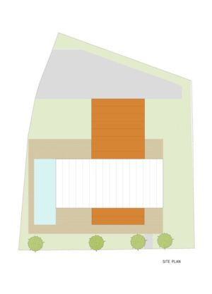 Plan Site  - Villa Materada par Proarh, Croatie.jpg