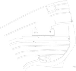 Plan Site - house-moledo par Eduardo Souto - Moledo, Portugal