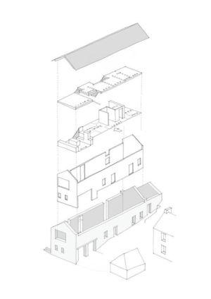 Plan éclaté 3 D - maison traditionnelle par WT Architecture - Biggar, Royaume-Uni.jpg