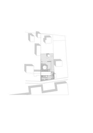 Plan masse - Maison R - Colboc Franzen & Associés - France
