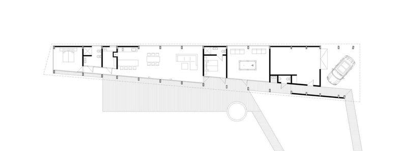 Plan 2D - Dune-House Par Archispektras - Lettonie