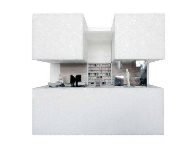 Plan 3D - House-in-House Par Plural - Bernolakovo, Slovaquie